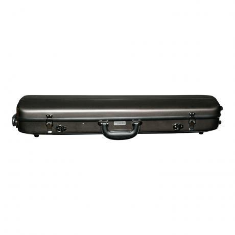 PACATO Classic Fiber Violinkoffer 4/4 | dark anthrazit