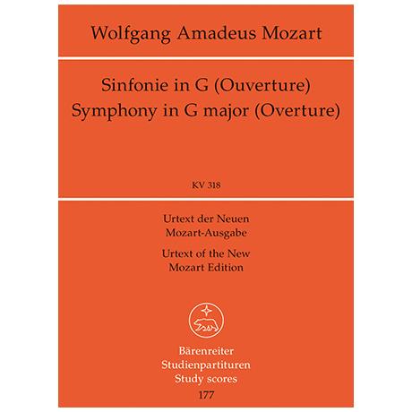 Mozart, W. A.: Sinfonie Nr. 32 G-Dur KV 318 – Ouvertüre