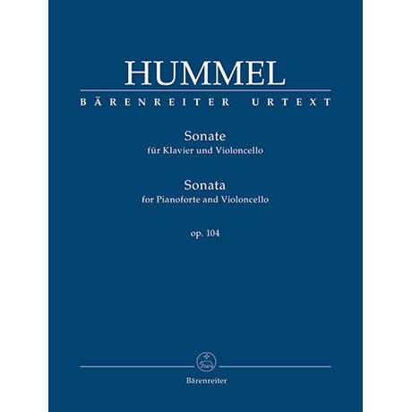 Hummel, J. N.: Sonate für Klavier und Violoncello Op. 104