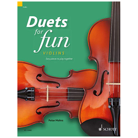 Mohrs, P.: Duets for fun – Violins