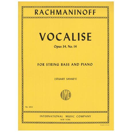 Rachmaninow, S.: Vocalise Op. 34/14