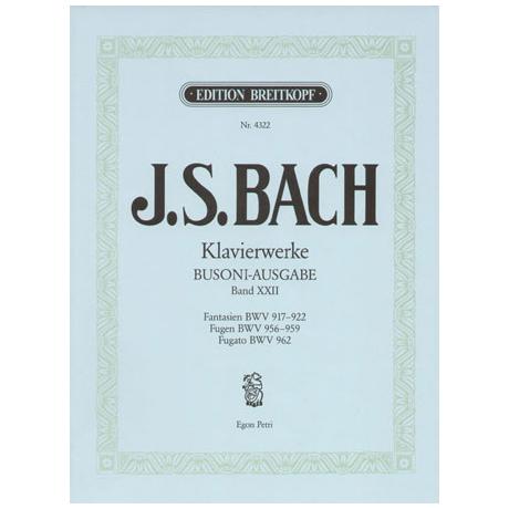 Bach, J.S.: Fantasien, Fugen, Fugato e-moll