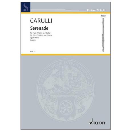 Carulli, F.: Serenade Op.109/6