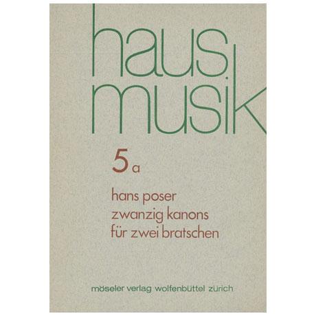 Poser, H.: 20 Kanons