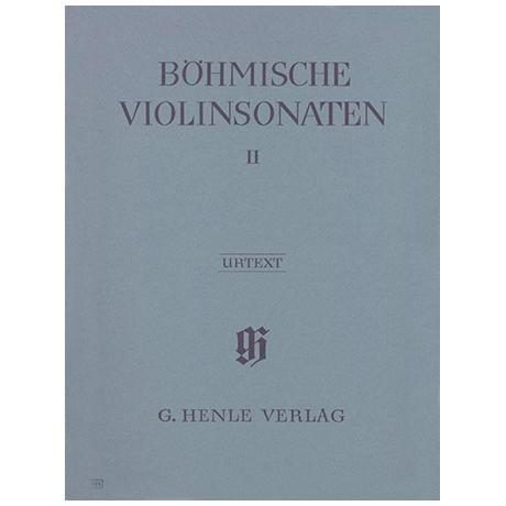 Böhmische Violinsonaten Band II