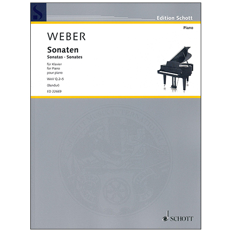 Weber, C. M. v.: Klaviersonaten WeV Q.2-5