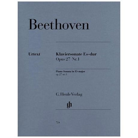 Beethoven, L. v.: Klaviersonate Nr. 13 Es-Dur Op. 27,1