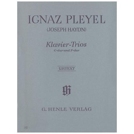Pleyel, I.: Klaviertrios C-, F-Dur Hob. XV:3,4