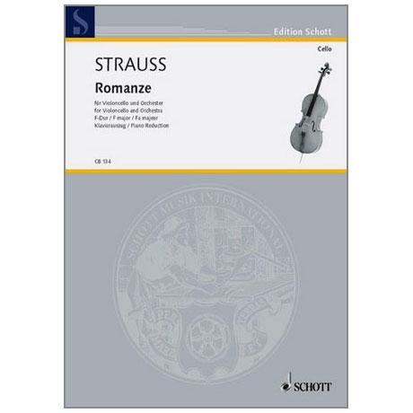 Strauss, Richard: Romanze F-Dur AV75 ohne Opus