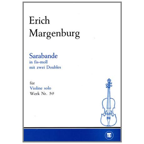 Margenburg, E.: Sarabande Fis-Dur mit zwei Doubles
