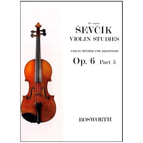 Sevcik, O.: Violinschule für Anfänger op. 6 Heft 5