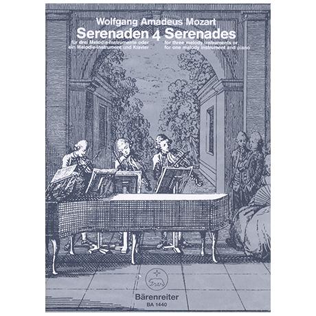 Mozart, W. A.: Serenade C-Dur KV 439b/4-5