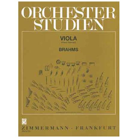 Ochesterstudien: Brahms