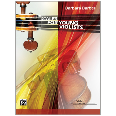 Barber, B.: Scales for Young Violists