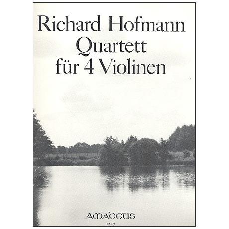 Hofmann, R.: Quartett Op. 98 C-Dur