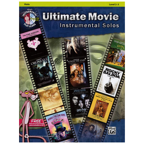 Ultimate Movie Instrumental Solos (+MP3-CD)