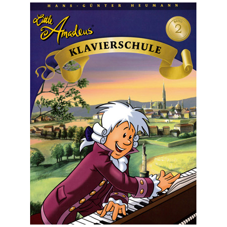 Little Amadeus – Klavierschule Band 2