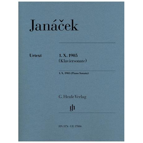 Janácek, L.: 1.X. 1905 (Klaviersonate)