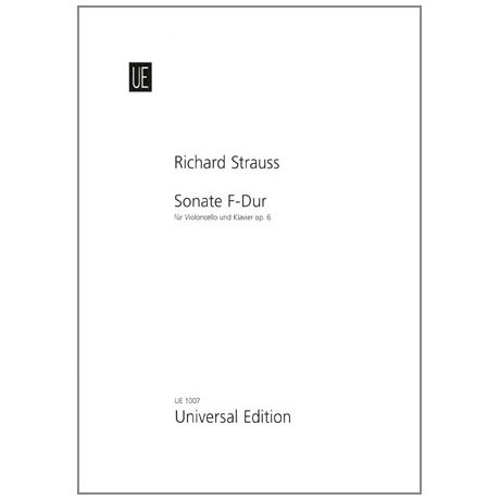 Strauss, R.: Sonate F-Dur Op.6