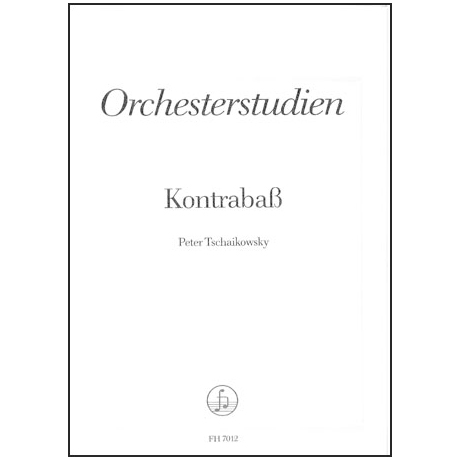 Tchaikovsky, P.I.: Orchesterstudien