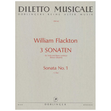 Flackton, W.: Violasonate 1 C-Dur