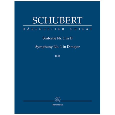 Schubert, F.: Sinfonie Nr. 1 D-Dur D 82 (1813)