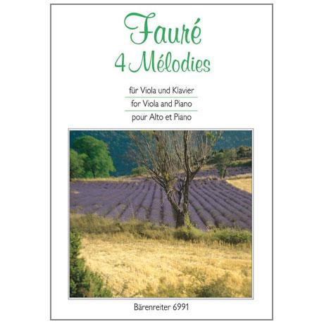 Fauré, Gabriel: 4 Mélodies
