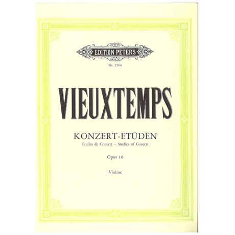 Vieuxtemps, H.: 6 Konzert-Etüden Op. 16
