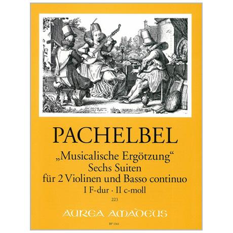 Pachelbel, J.: »Musicalische Ergötzung« 6 Suiten Heft 1