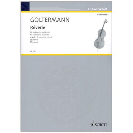 Goltermann, G.: Rêverie a-moll Op.54/3
