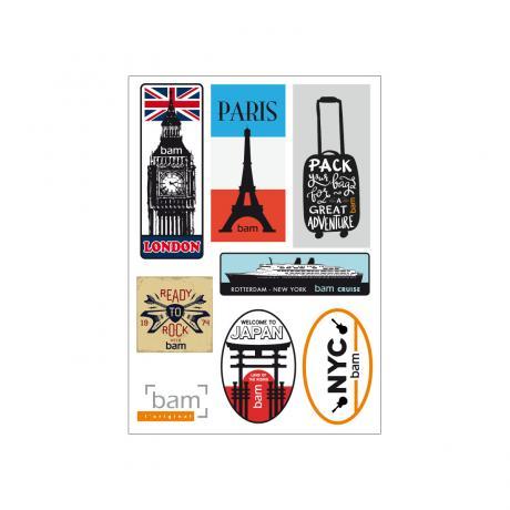 SIGNATURE Stickers von BAM Vintage