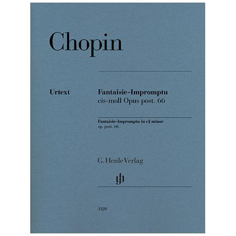 Chopin, F.: Fantaisie-Impromptu Op. Posth. 66 cis-Moll