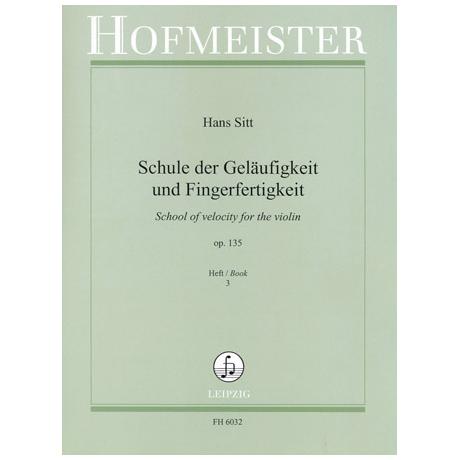 Sitt, H.: Schule der Geläufigkeit op.135 Band 3