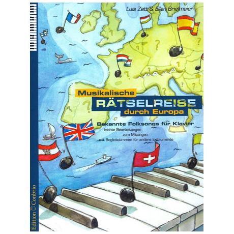 Zett: Musikalische Rätselreise durch Europa