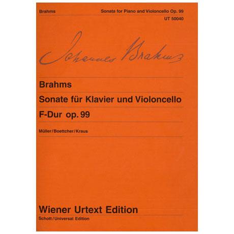Brahms, J.: Sonate F-Dur, op. 99