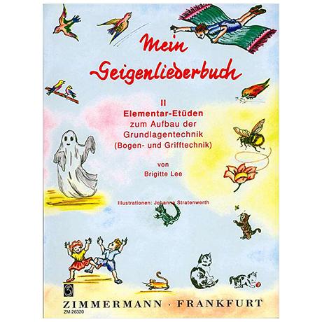 Lee, B.: Mein Geigenliederbuch Band 2