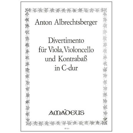 Albrechtsberger, J.G.: Divertimento C-Dur