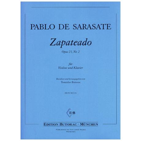 Sarasate, P. d.: Zapateado Op. 23/2