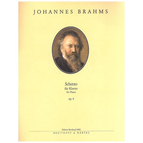Brahms, J.: Scherzo Op. 4