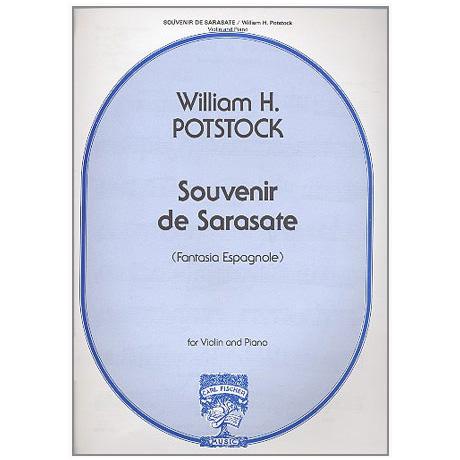 Potstock, W. H.: Souvenir de Sarasate Op. 15