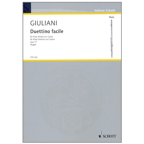 Giuliani, M.: Duettino facile Op. 77