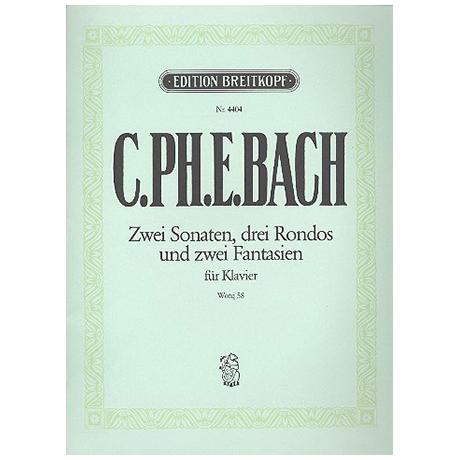 Bach, C.Ph.E.: Klaviersonaten und Freie Fantasien Wq 58