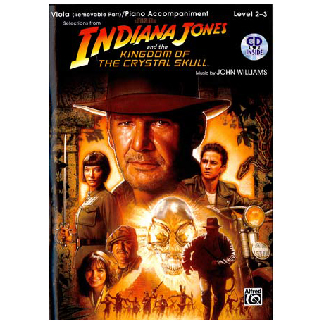 Indiana Jones und das Königreich des Kristallschädels (+CD)
