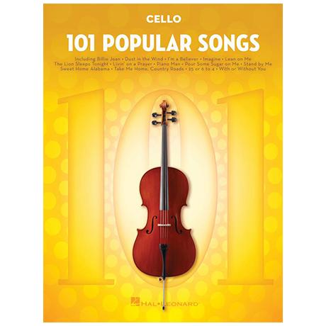 101 Popular Songs for Cello