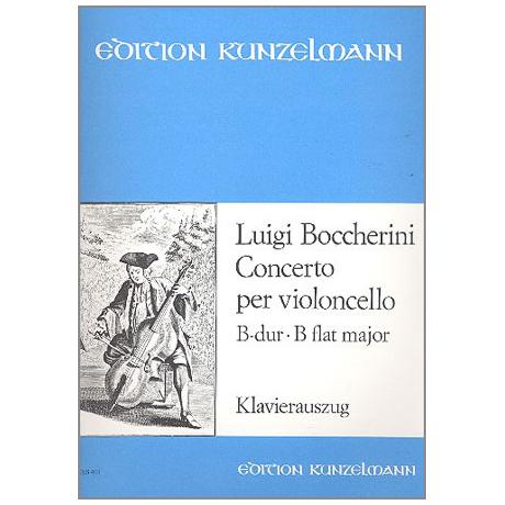 Boccherini, L.: Konzert B-Dur Nr.9