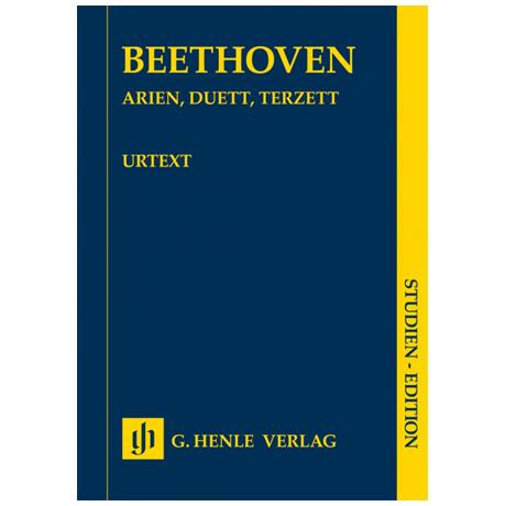 Beethoven, L. v.: Arien, Duett, Terzett