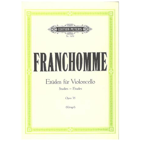 Franchomme, A.: 12 Etüden Op. 35