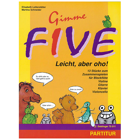Schneider, M./Lotterstätter, E.: Gimme five – Leicht, aber oho!