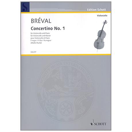 Bréval, J.B.: Concertino Nr.1 F-Dur