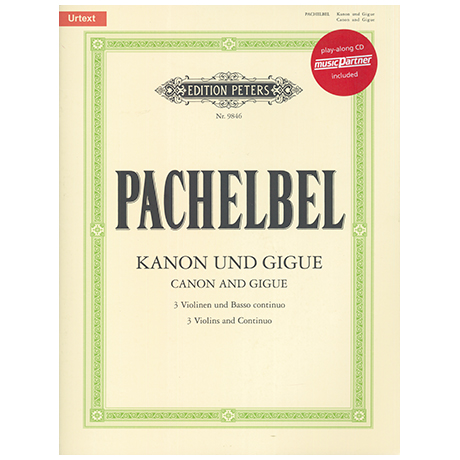 Pachelbel, J.: Kanon & Gigue (+CD)